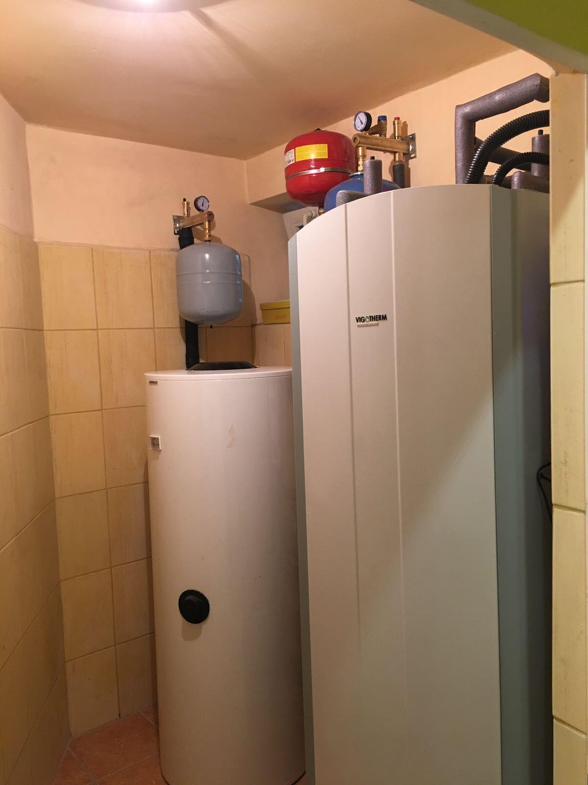 Gruntowa pompa ciepła w miejscowości Dolna Grupa