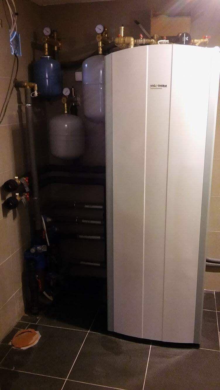 Instalacja pompy ciepła Vigotherm w Smołdzinie