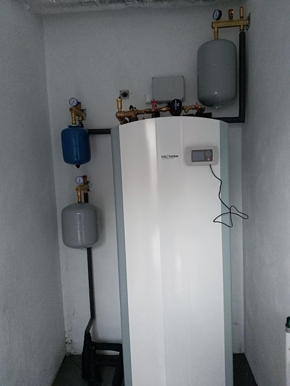 Instalacja pompy ciepła Vigotherm w Toruniu